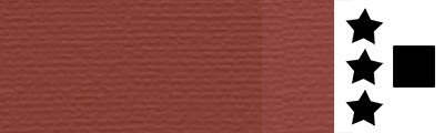 381 Mars red, artystyczna farba olejna Lefranc 40 ml