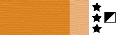 770 Transparent yellow ochre, artystyczna farba olejna Lefranc 40 ml