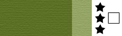 568 Permanent sap green, artystyczna farba olejna Lefranc 40ml