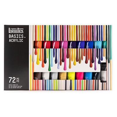 Farby akrylowe Liquitex 72