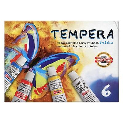 Tempery Koh-i-Noor, zestaw 6 kolorów