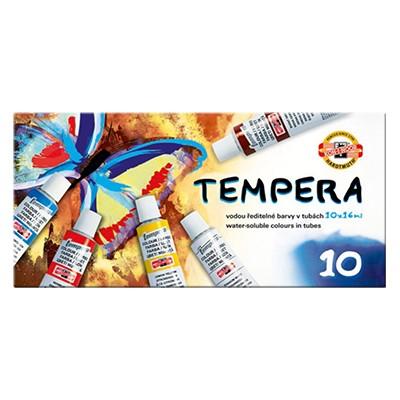 Tempery Koh-i-Noor, zestaw 10 kolorów