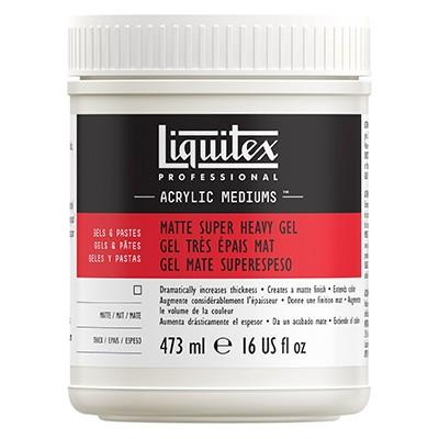 Matte super heavy gel Liquitex