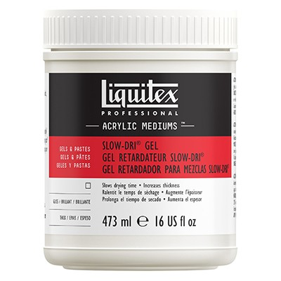 Slow-Dri blending gel Liquitex