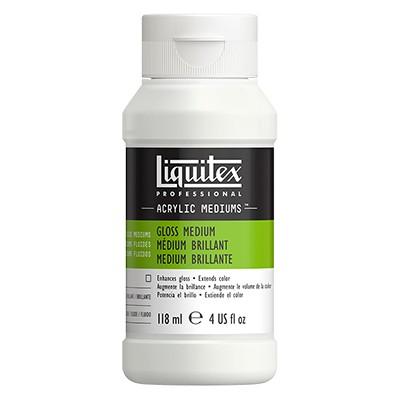 Medium błyszczące i werniks do farb akrylowych, Liquitex 118ml