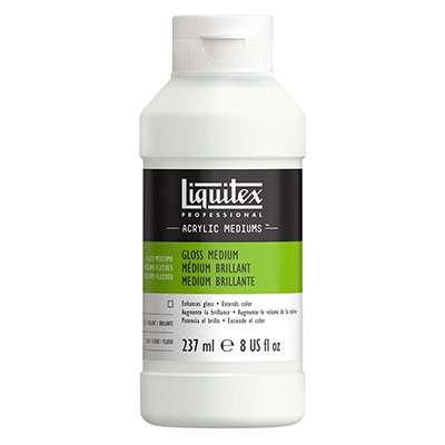 Medium błyszczące i werniks do farb akrylowych, Liquitex 237ml