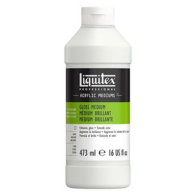 Medium błyszczące i werniks do farb akrylowych, Liquitex 473ml