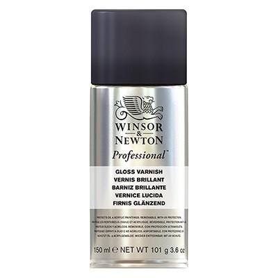 Werniks błyszczący do farb akrylowych, W&N, spray 150 ml