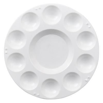 Paleta malarska plastikowa okrągła średnica 17cm