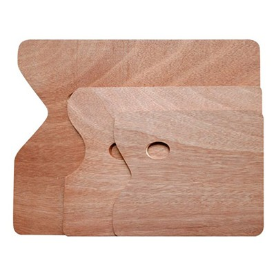 Paleta malarska, drewniana, prostokątna 20 x 30