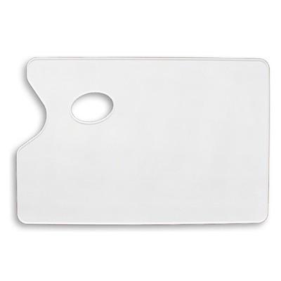 Paleta plastikowa prostokątna - gładka, 19x29cm