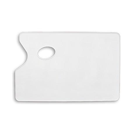 Paleta plastikowa prostokątna gładka