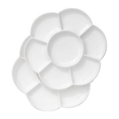 Paleta malarska plastikowa okrągła