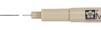 005 Black, pisak precyzyjny Pigma Micron, Sakura, 0.2mm