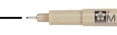 04 Black, pisak precyzyjny Pigma Micron, Sakura, 0.40mm