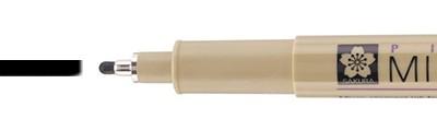 12 Black, pisak precyzyjny Pigma Micron, Sakura, 0.7mm