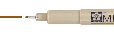 05 Sepia, pisak precyzyjny Pigma Micron, Sakura, 0.45mm