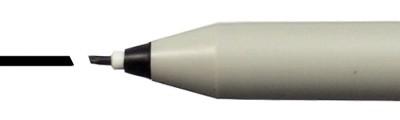 1.0 - czarny pisak Calligraphy Pen, Sakura