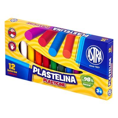 Plastelina, Astra, zestaw 12 kolorów