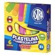 Plastelina fluorescencyjna Astra 6 kolorów