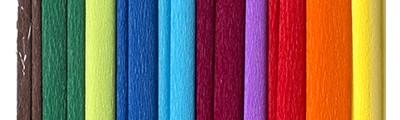 Mix B, zestaw bibuły marszczonej, 10 kolorów