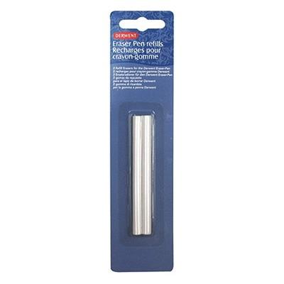 Wkłady do gumki w oprawie długopisu