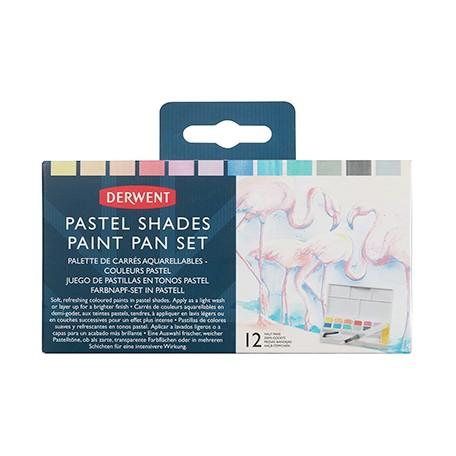 Pastel Shades Paint Pan Set Derwent