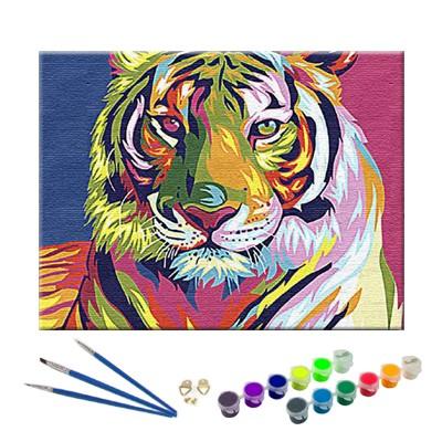 Tygrys – zestaw do numeromalowania