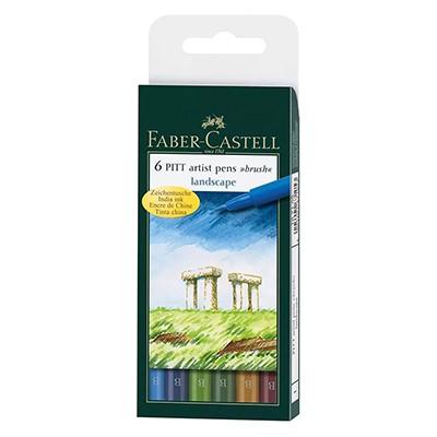 Landscape pitt artist faber castell