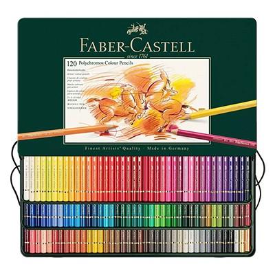 Kredki rysunkowe Polychromos, Faber-Castell, 120 kolorów