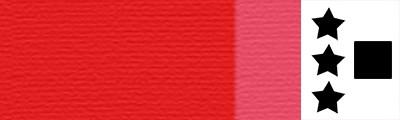 900 Lefranc red, artystyczna farba olejna Lefranc 40ml