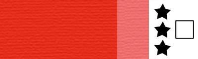 393 Vermilion red, artystyczna farba olejna Lefranc 40 ml
