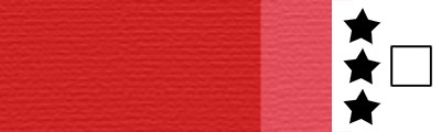 815 Transparent bright red, artystyczna farba olejna Lefranc 40 ml