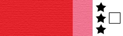 384 Quinacridone red, artystyczna farba olejna Lefranc 40 ml