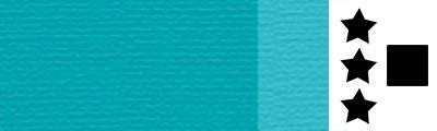 725 Cobalt turquoise light, artystyczna farba olejna Lefranc 40 ml