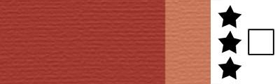 734 Transparent burnt sienna, artystyczna farba olejna Lefranc 40 ml
