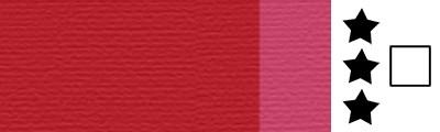 345 Alizarin crimson, artystyczna farba olejna Lefranc 40 ml