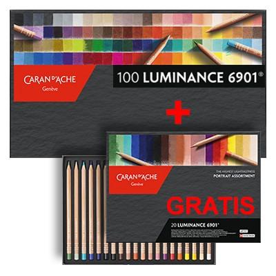 Kredki rysunkowe Luminance 6901
