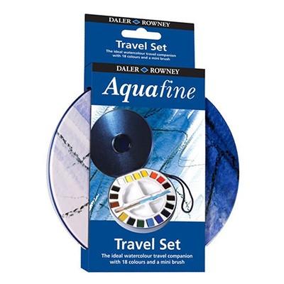 Farby akwarelowe w kostkach Aquafine