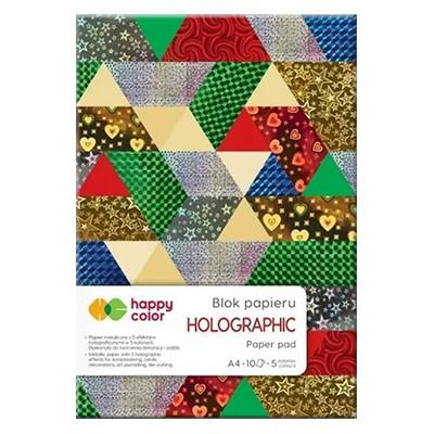 Blok papieru ozdobnego Holographic
