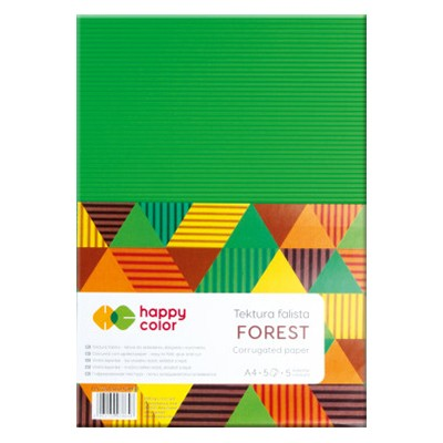 Tektura falista Forest Happy Color