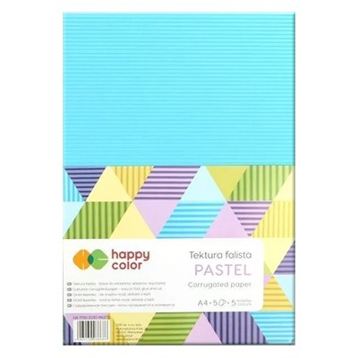 Tektura falista Pastel Happy Color A4
