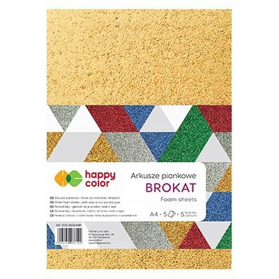 Arkusze piankowe Mix Brokat Happy Color