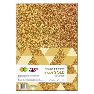 arkusze piankowe gold happy color