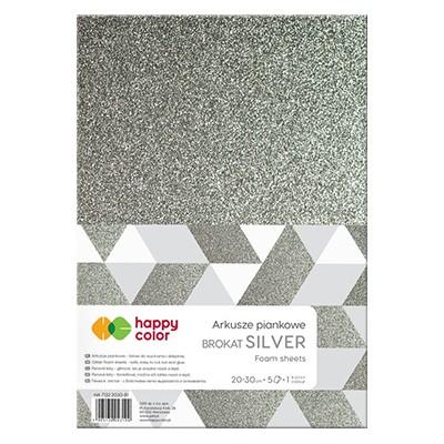 arkusze piankowe silver happy color