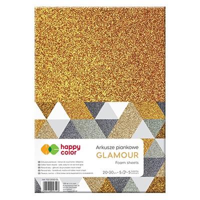 arkusze piankowe glamour happy color