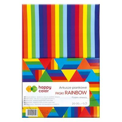 piankowe arkusze tęczowe happy color