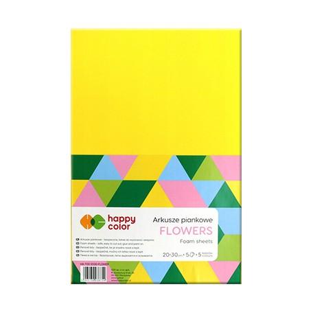 arkusze piankowe flowers happy color