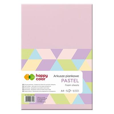 Arkusze piankowe Pastel, Happy Color A4