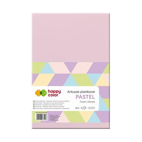 arkusze piankowe pastelowe happy color
